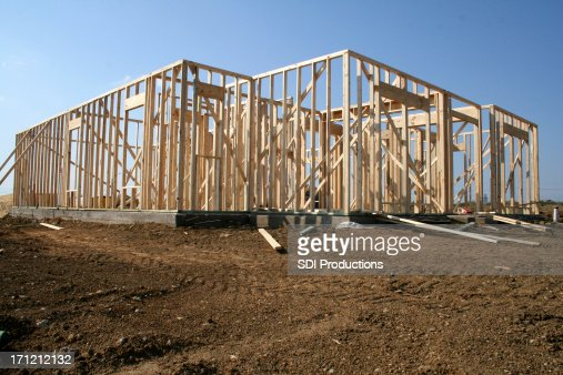 Under Construction House Stock Photos and Pictures | Getty ...