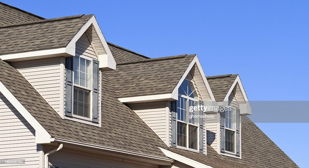 New Home showing gables roof and vinyl siding  Stock Photo & New Home Showing Gables Roof And Vinyl Siding Stock Photo | Getty ... memphite.com