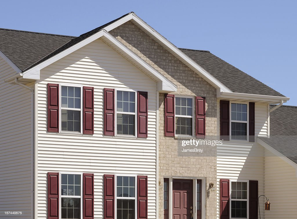 Brick house with siding cheap brick house with siding for House siding reviews