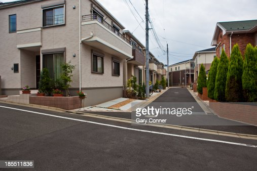 New homes in Tokyo : Stock Photo