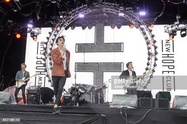 New Hope Club perform at Fusion Festival on September 3 2017 in Liverpool England