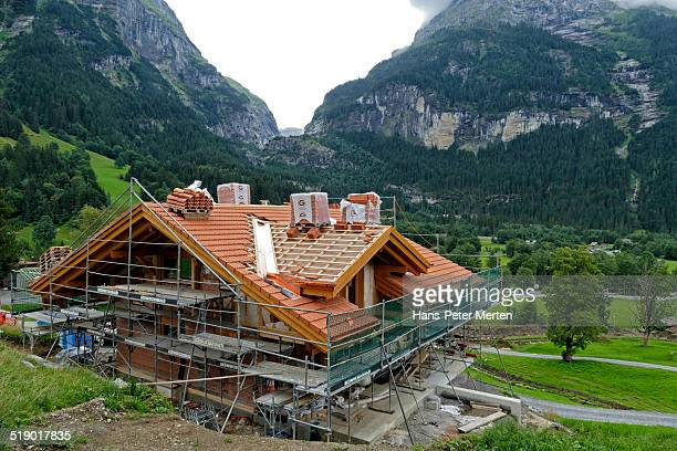 new house building, Grindelwald