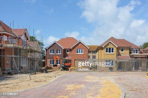 Nouvelle maison construction site
