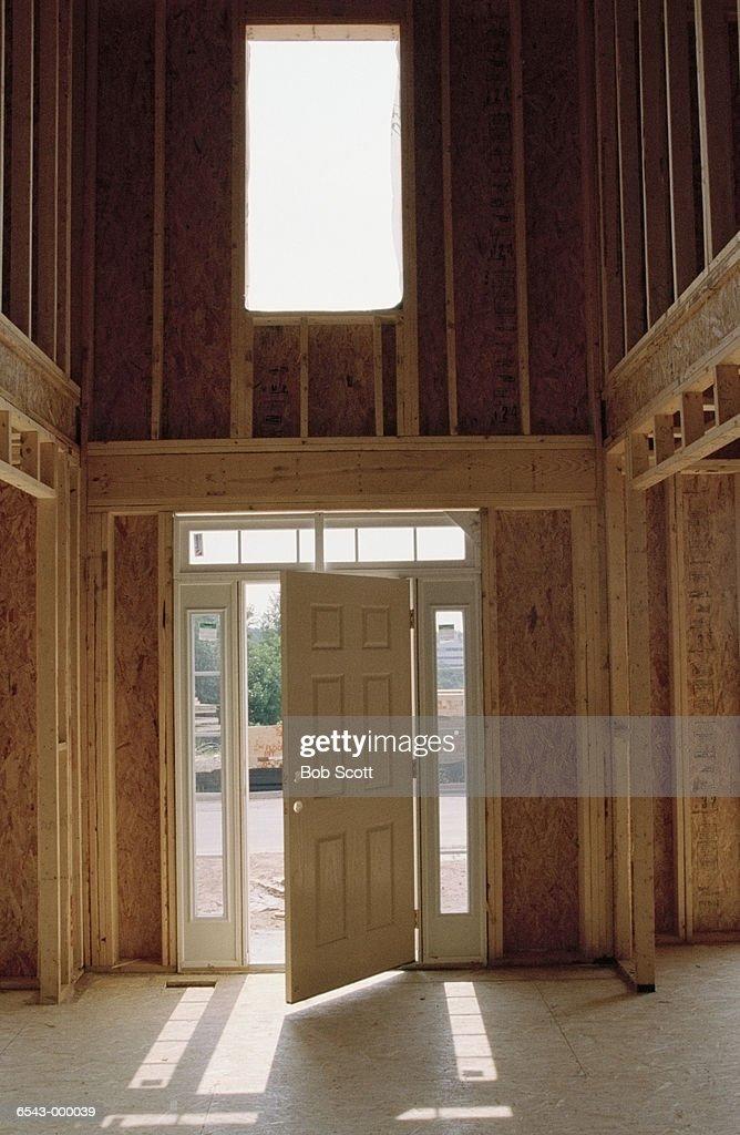 New House under Construction : Stock Photo