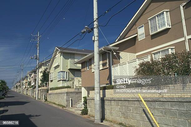New houses, Chiba Prefecture, Honshu, Japan