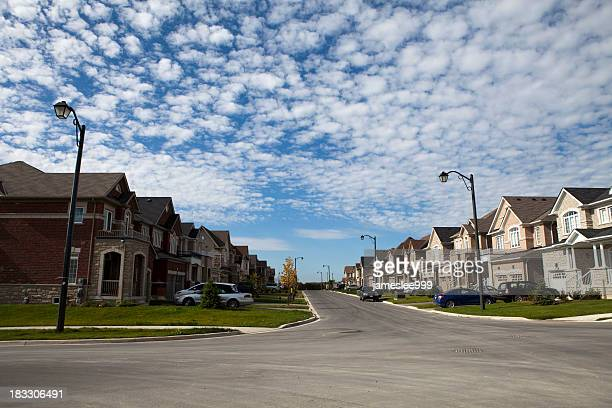 New Houses On Suburb