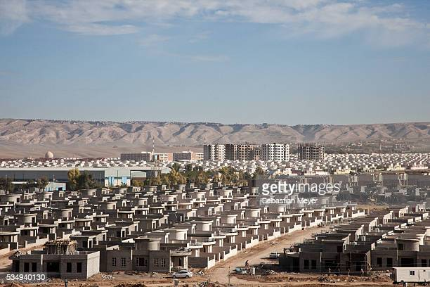 A new housing development in Beharke on the outskirts of Erbil