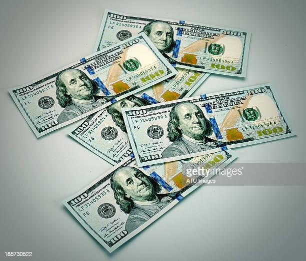 New hundred dollar bills