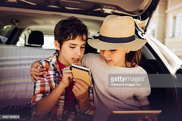 New ideas for road trip with family