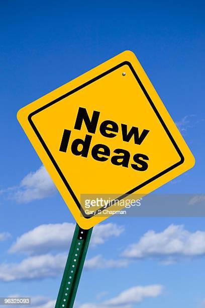 New ideas traffic sign