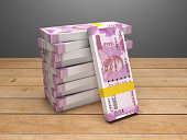 New Indian Currency - 3D Rendered Image