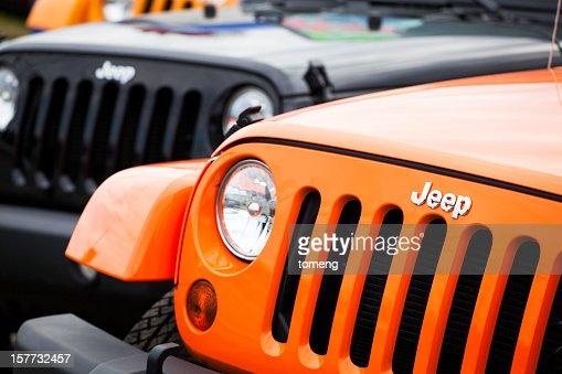 New Jeeps Front Fascia