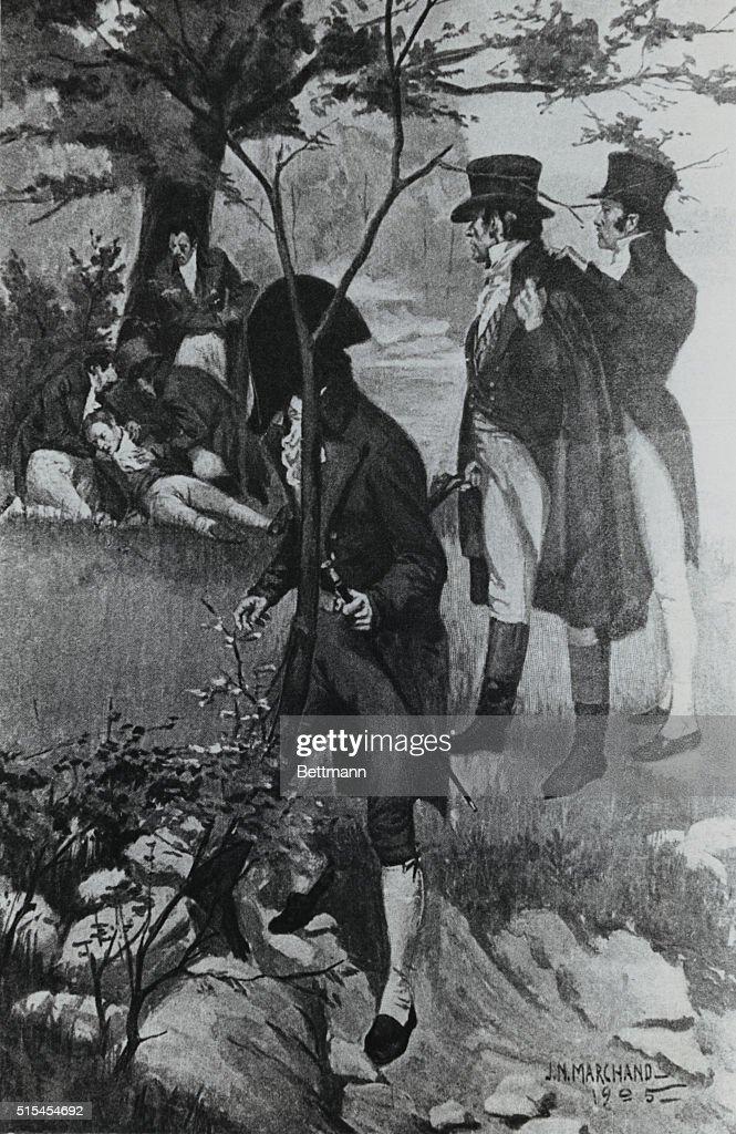 alexander hamilton duel second