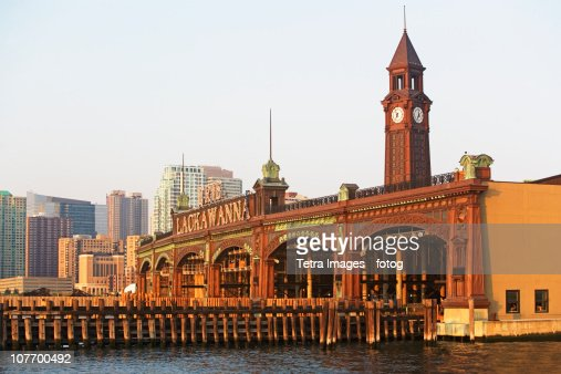 USA, New Jersey, Hoboken, Historic train station