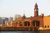 USA, New Jersey, Hoboken, Historic train station