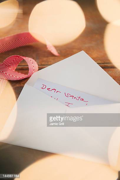 USA, New Jersey, Jersey City, Christmas correspondence