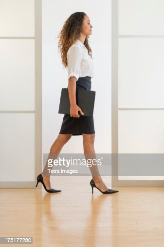 USA, New Jersey, Jersey City, Portrait of office worker : Stock Photo