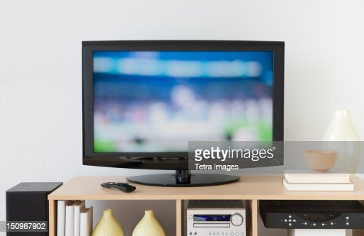 USA, New Jersey, Jersey City, Television set