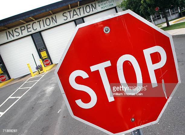 Department of motor vehicles stock photos and pictures for Motor vehicle inspection station