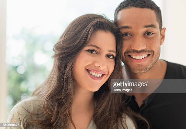 USA, New Jersey, Portrait of happy couple