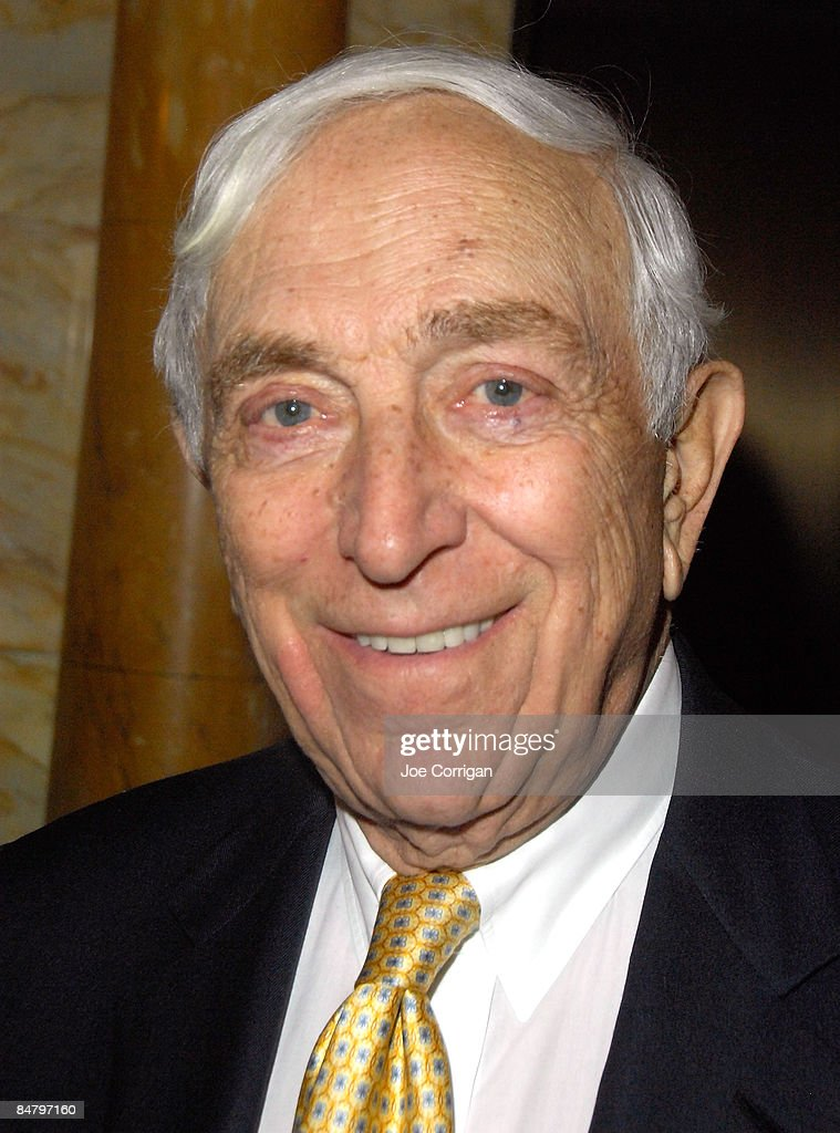 New Jersey Senator Frank Lautenberg attends Barry Manilow's induction as an honorary Friar at The Friars Club on February 14, 2009 in New York City.