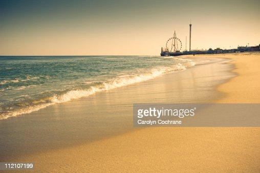 New Jersey Shore Coastline