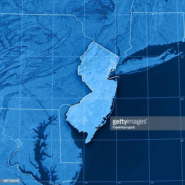 New Jersey Topographic Map