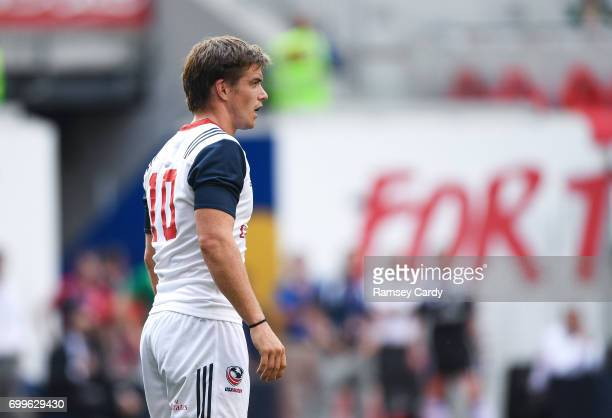New Jersey United States 10 June 2017 AJ MacGinty of USA during the international match between Ireland and USA at the Red Bull Arena in Harrison New...