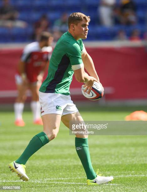 New Jersey United States 10 June 2017 Garry Ringrose of Ireland ahead of the international match between Ireland and USA at the Red Bull Arena in...