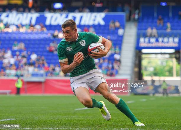 New Jersey United States 10 June 2017 Garry Ringrose of Ireland during the international match between Ireland and USA at the Red Bull Arena in...