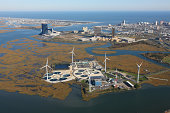 New Jersey Wind Energy and Water Treatment Plant