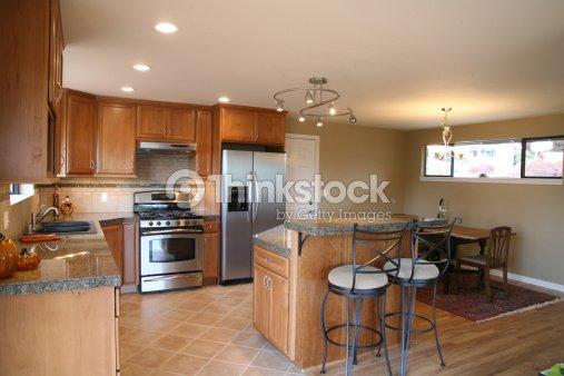 new kitchen remodel stock photo thinkstock. Black Bedroom Furniture Sets. Home Design Ideas