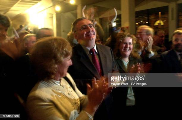 New Labour leader Pat Rabbitte hears the result of the Labour leadership election in Dublin Republic of Ireland * The four candidates who hoped to...