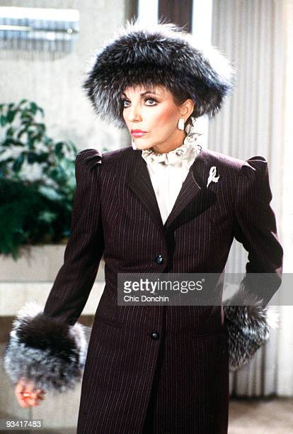 DYNASTY 'New Lady In Town' Season Four 5/2/84 Alexis was questioned by the police about her affair with Mark