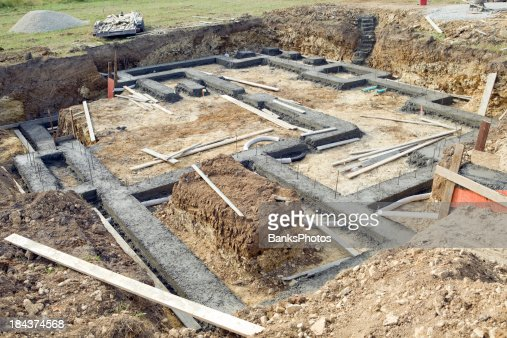 Basement Excavation Stock Photos And Pictures Getty Images