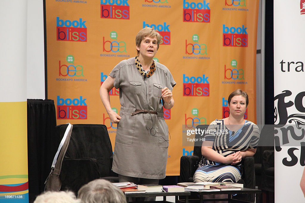 New Literary Observer Editor-in-Chief Irina Prokhorova attends the 2013 Book Expo America on day one at Jacob Javits Center on May 30, 2013 in New York City.