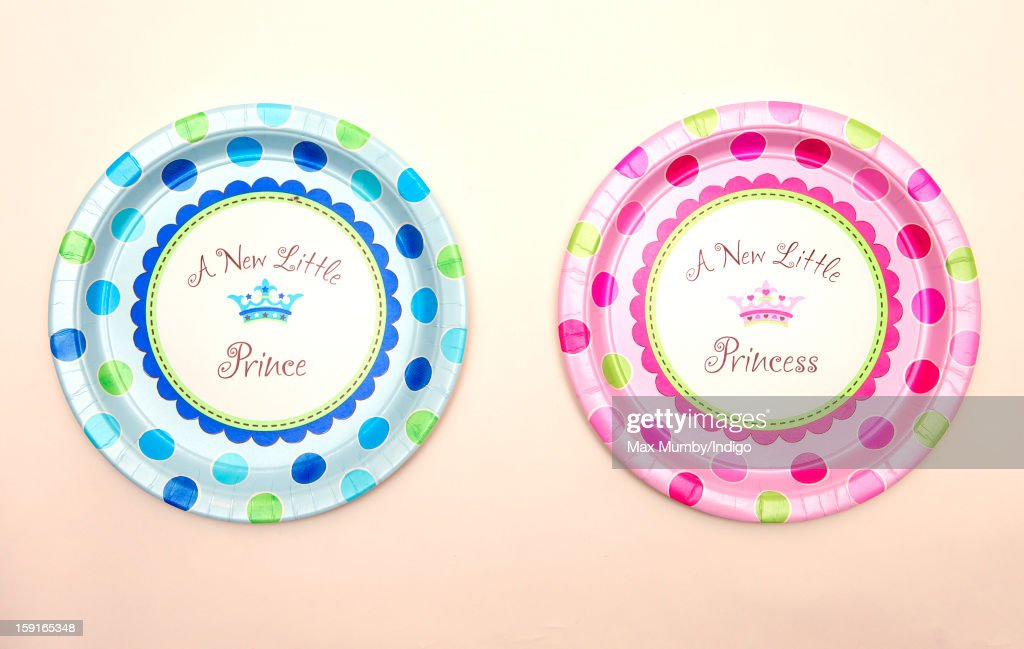 New Little Prince' and a 'A New Little Princess' plate sold by Party Pieces, the company owned and run by Catherine, Duchess of Cambridge's parents Carole and Michael Middleton on January 09, 2013 in London, England. It was announced by Clarence House in December 2012 that Catherine, Duchess of Cambridge is pregnant with her and Prince William, Duke of Cambridge's first child.