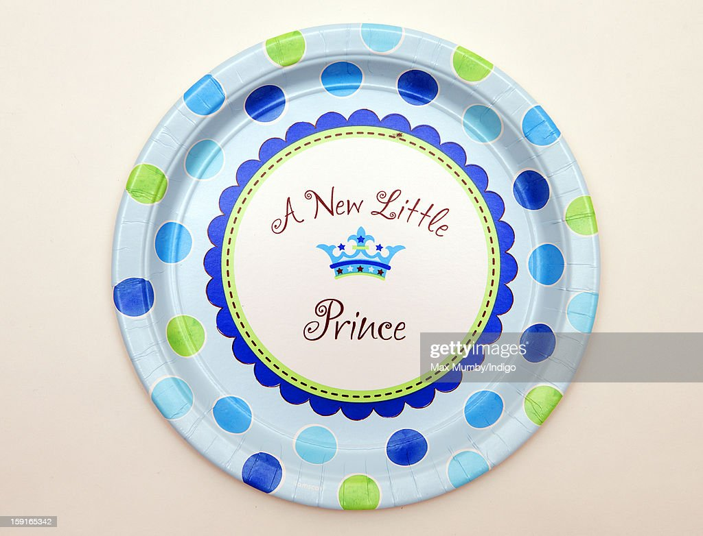 New Little Prince' plate sold by Party Pieces, the company owned and run by Catherine, Duchess of Cambridge's parents Carole and Michael Middleton on January 09, 2013 in London, England. It was announced by Clarence House in December 2012 that Catherine, Duchess of Cambridge is pregnant with her and Prince William, Duke of Cambridge's first child.