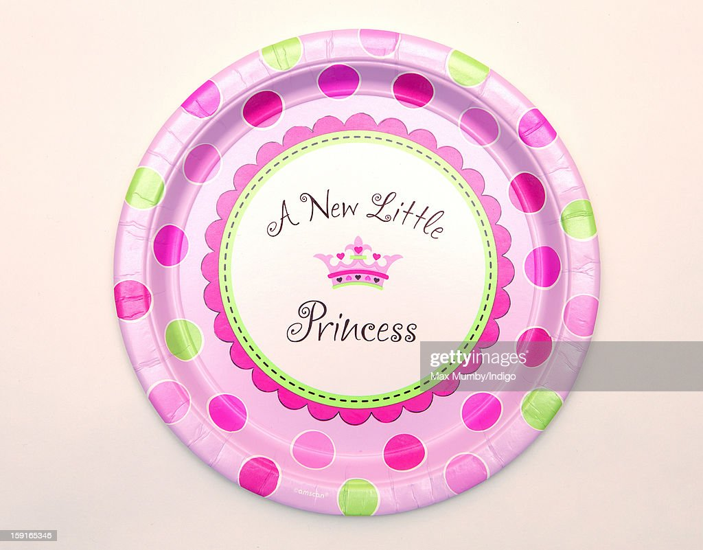 New Little Princess' plate sold by Party Pieces, the company owned and run by Catherine, Duchess of Cambridge's parents Carole and Michael Middleton on January 09, 2013 in London, England. It was announced by Clarence House in December 2012 that Catherine, Duchess of Cambridge is pregnant with her and Prince William, Duke of Cambridge's first child.