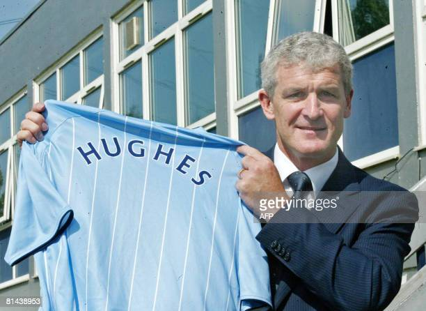 New Manchester City Manager Mark Hughes is pictured at Manchester City Football Club Carrington Training Centre in Manchester northwest England on...
