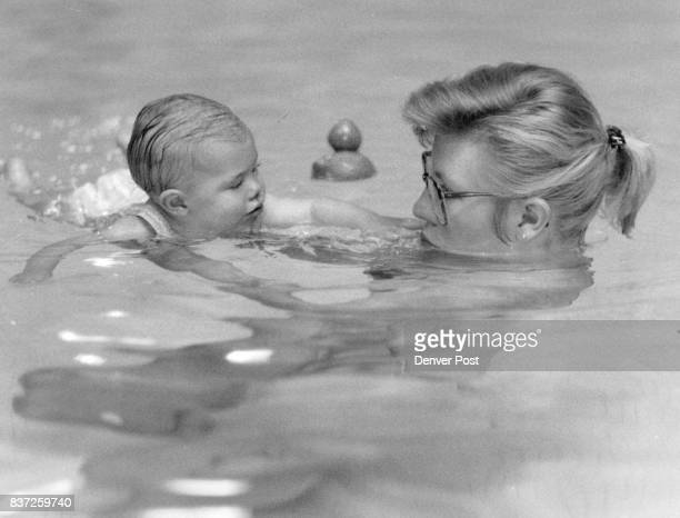 JUN 11 1988 new mehhods for teaching children to swim Schlessman YMCA shrimp/perch swimm class taught by Kimberly Mauzey Jeannie and Emily Wessel...