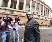 New Member of Parliament Rajya Sabha Amar Singh during the Parliament Monsoon Session on July 18 2016 in New Delhi India A total of 25 bills...