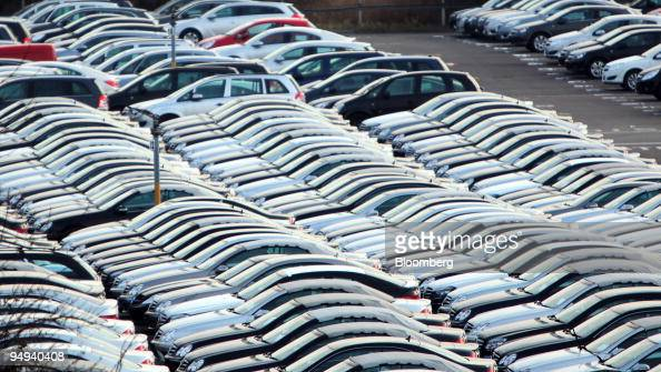 New Mercedes And Other Vehicles Sit In Storage At Dartford Pictures Getty Images