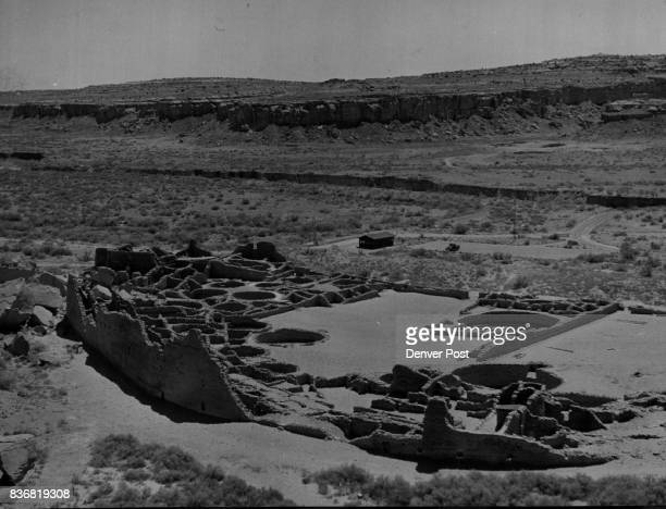 New Mexico National Monuments The stone ruins of Pueblo Bonitoworld's largest apartment house before 1887stand as a silent reminder of a civilization...