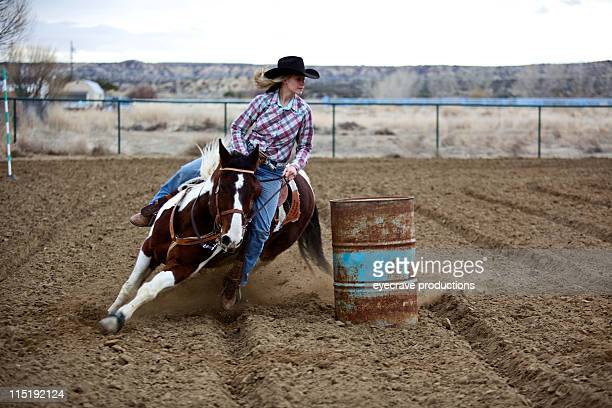 New Mexico rodeo girl