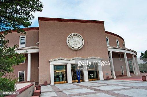 Capitólio do estado do Novo México em Santa Fé : Foto de stock