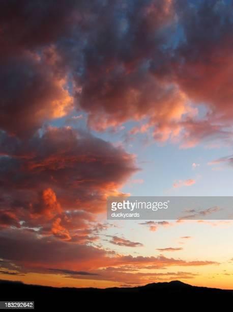 ニューメキシコの夕日