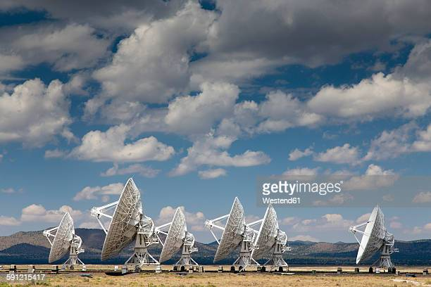 USA, New Mexico, Very Large Array radio astronomy observatory