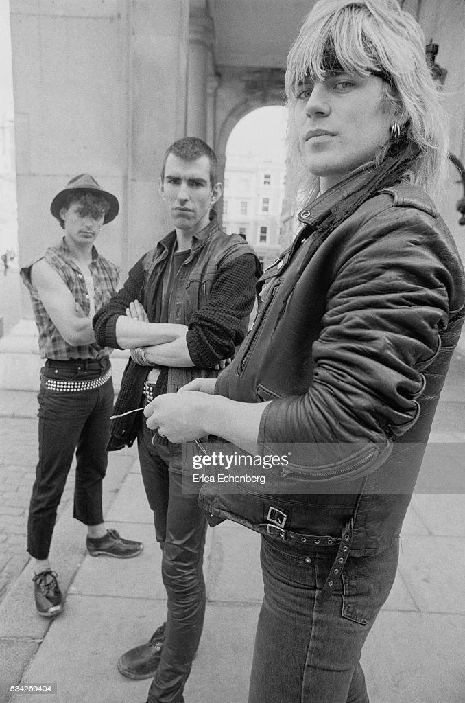 New Model Army Justin Sullivan Covent Garden London United Kingdom 1983