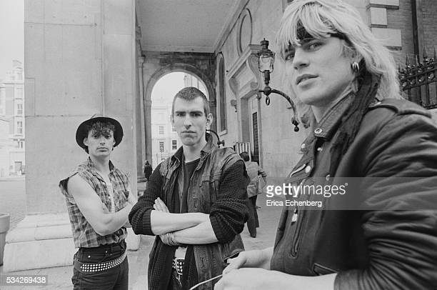 New Model Army Justin Sullivan Covent Garden London United Kingdom 1983